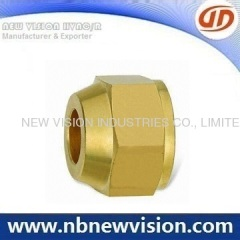 Brass Nut Pipe Fitting