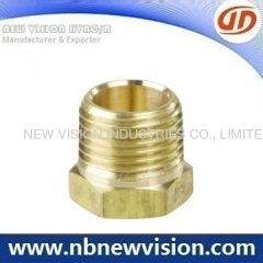 Brass Thread Fitting - Union
