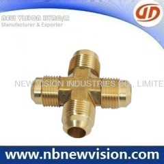 Brass Cross Pipe Fitting