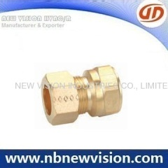 Brass Fitting with Nut