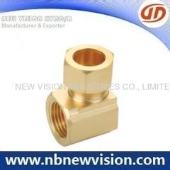 CNC Machining Brass Pipe Fitting - Adaptor