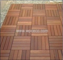 Good Quality And Easy Interlocking WPC DIY Decking