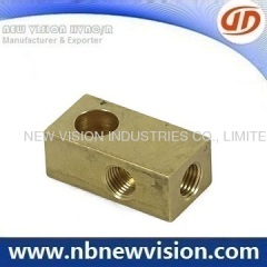 CNC Brass Thread Fitting