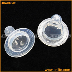 Soft safe silicone nipple