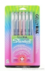 Piece Gelly Roll Assorted Colors Stardust Meteor Pen Set