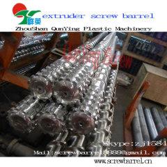 Bimetallic Extruder Screws and Barrels