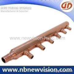 Copper Manifold for HVACR