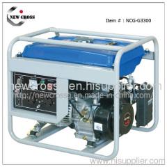3kw 4 Stroke Gasoline Generator
