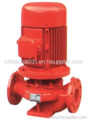 Horizontal centrifugal fire pump