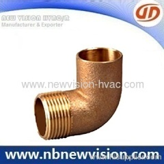 Bronze Elbow 90 Degree