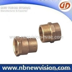 Bronze Adapter Thread Fitting