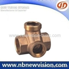 Bronze Cross Pipe Fitting