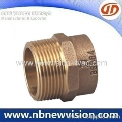 Bronze Adaptor Thread Fitting