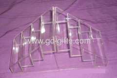 Clear acrylic gifts display showcases
