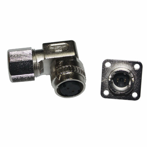 Servo Motor Ip67 Cable Connector Plug And Socket From