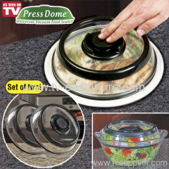 PRESS DOME SET OF TWO