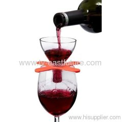 On-Glass Red Wine Aerator