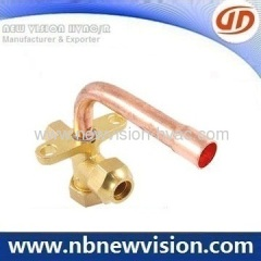 "2-Way 1/4"" Air Conditioning Split Valves with Bend Tube 90 Degree"