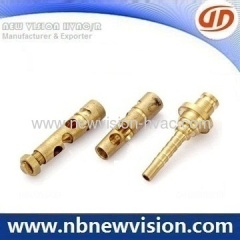 CNC Machined Brass Fittings - Rod