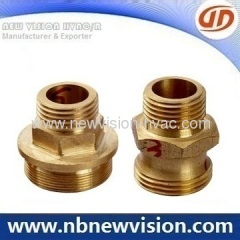 Precision CNC Machining Brass Thread Fittings