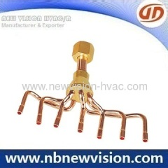 Brass Distributor for Central Air Conditioner