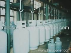 LPG tank powder coating line
