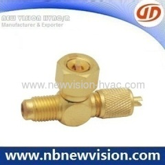 Access Fittings - Charging Valve with Nut