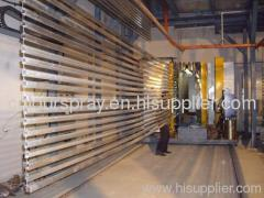 aluminum profile coating line