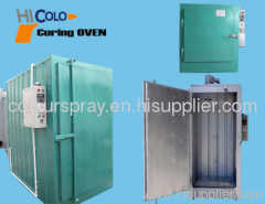 powder coating batch oven