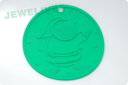 Silicone mat for cup or bowl