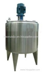 stainless steel heating tank for waste plastic recycling