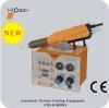 Automatic powder spray gun with intelligent function control unit