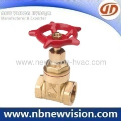 Plumbing Brass Gate Valves
