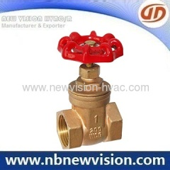 Brass Gate Valve for Plumbing