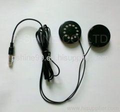 washable headphones headband styles wasterproof earphones for garment