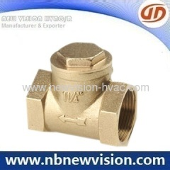 Forged Brass Check Valve