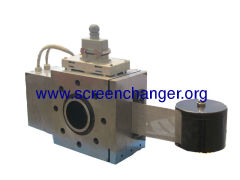 Continuous sreen changer with belt screen