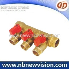 Brass Manifold for Plumbing