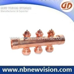 Copper Manifold for Water