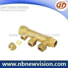 Hot Forged Brass Manifold