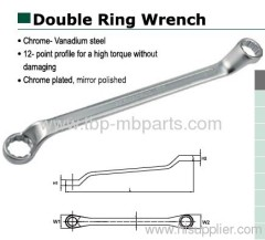 AEROFORCE TOOLS Double ring wrench German type