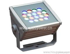 30W RGB led outdoor flood light with wireless remote