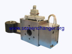 continuous screen changer with screen belt