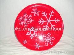 durable plastic Christmas plates  sc 1 st  Ningbo Boks Import u0026 Export Co. Ltd & 5 compartments plastic Christmas lid dish plates from China ...