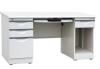Four drawer computer desk