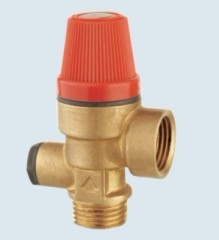 J-214 temperature and pressure safety valve