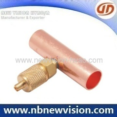 Access Fitting - Charging Valve for Copper Tube Body