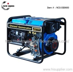 6kVA / 7kVA Diesel Generator Set (NCG-DE8600)