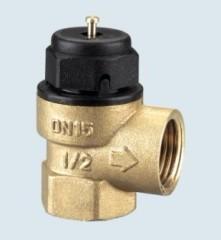 Hand safety relief valve