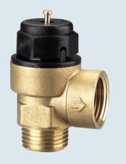 Brass magnetic gas valve